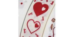Cinta Corazónes 3cm B