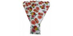 Bolsa Bouquet Metal Flores