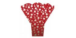Bolsa Bouquet Corazón Plata